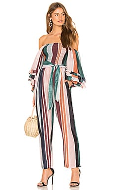Lagunitas Smock Off Shoulder Jumpsuit APIECE APART $159