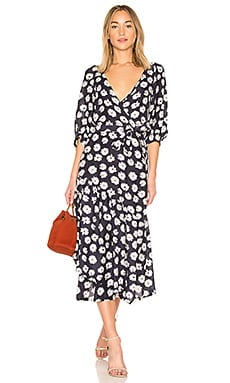 Bougainvillea Wrap Dress APIECE APART $425