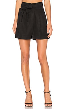 Baja Wrap Shorts in Black