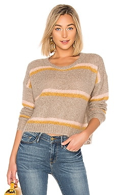 Striped Mirthe Crew Sweater APIECE APART $189