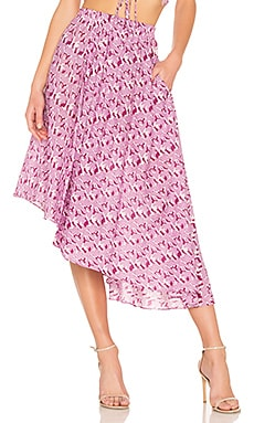 Turkanna Asymmetric Skirt