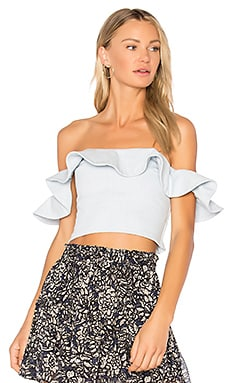 Florian Off Shoulder Smock Top
