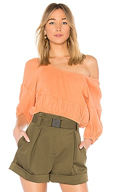 Amber One Shoulder Top APIECE APART $220 Collections