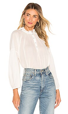 Victoria Mock Neck Blouse APIECE APART $91