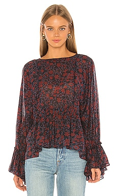 Midnight Shirred Top APIECE APART $108