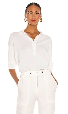 Clara Collar Knit Top APIECE APART $375 NUEVO