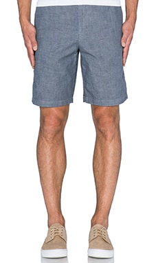 Apolis Chambray Short in Charcoal