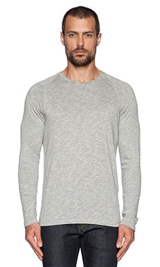 Apolis Raglan Pullover in Heather