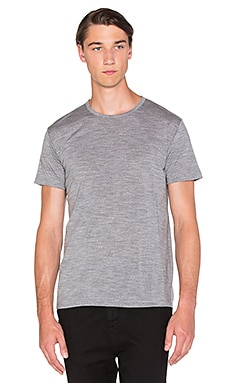 Apolis Merino T-Shirt in Grey Heather