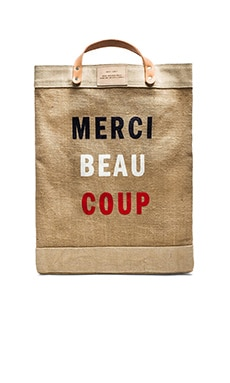 Apolis + Clare V. Market Bag in Merci