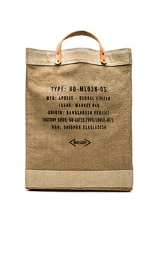 Apolis Market Bag in Natural