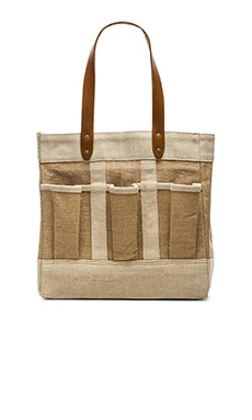 Apolis Garden Bag in Natural