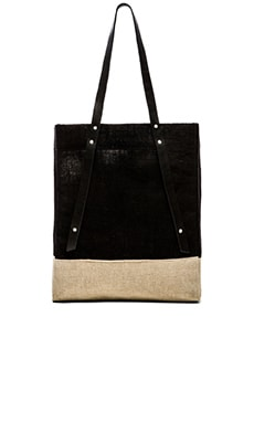 Apolis Wine Tote in Black