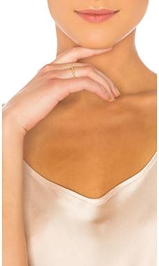 Фото - Кольцо diamond kite - Apres Jewelry цвет металлический золотой