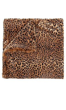 Brady Faux Fur Blanket Apparis $190