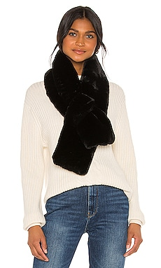 Luna Faux Fur Scarf Apparis $36