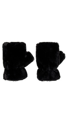 Ariel Faux Fur Mittens Apparis $50