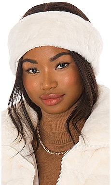 Eleni Faux Fur Headband Apparis $35