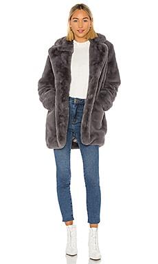Sophie Faux Fur Coat Apparis $325