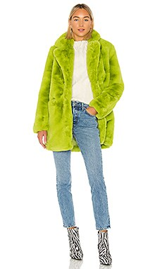 Sophie Faux Fur Coat Apparis $156