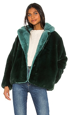 Kendall Faux Fur Jacket Apparis $93