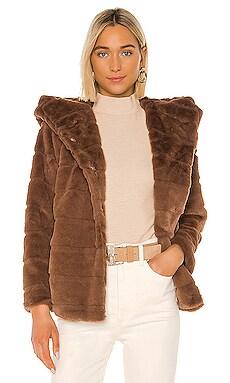 Goldie Faux Fur Hoodie Apparis $230