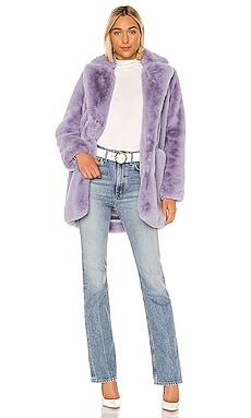 Sophie Faux Fur Coat Apparis $335 NEW ARRIVAL