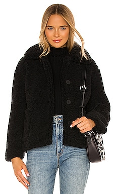 Charlotte Faux Fur Jacket Apparis $177 Sustainable