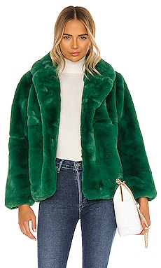 Куртка из искусственного меха manon - Apparis, Зеленый, Statement
