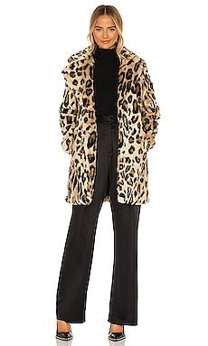 Куртка из искусственного меха lana - Apparis, Коричневый, Statement