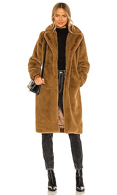 Siena Faux Fur Coat Apparis $299 Sustainable