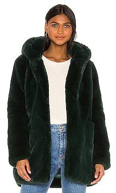 Marie Faux Fur Coat Apparis $340