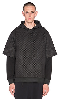 AQ/AQ Eyzen Hoody in Black