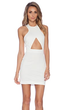 AQ/AQ Monica Dress in Cream