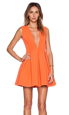 Vicious Mini Dress en Mandarine