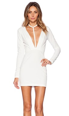 AQ/AQ Strike Mini Dress in Cream