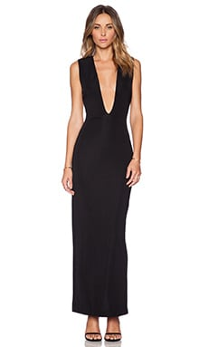 AQ/AQ Viena Maxi Dress in Black