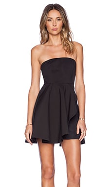 AQ/AQ Frances Mini Dress in Black