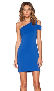AQ/AQ Kirsty Mini Dress in Dazzling Blue