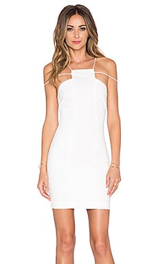 AQ/AQ Maple Mini Dress in Cream