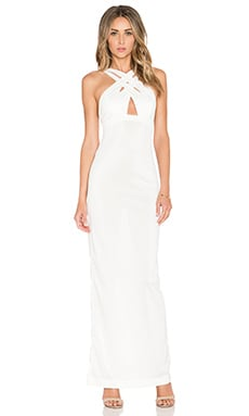 AQ/AQ Cryton Maxi Dress in Cream