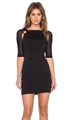Lancer Mini Dress en Noir