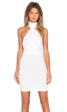 AQ/AQ Excalibur Mini Dress in Cream
