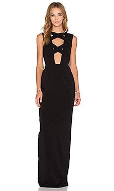 Talli Maxi Dress in Black