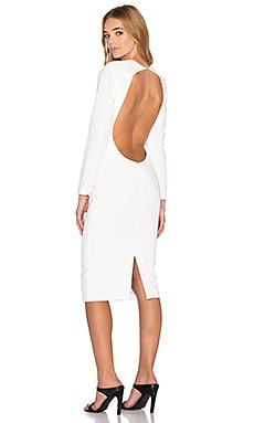 Zizon Midi Dress in Cream