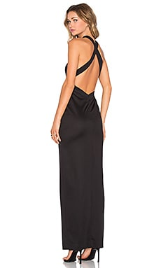 AQ/AQ Izzo Maxi Dress in Black