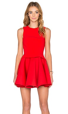 AQ/AQ Constitution Mini Dress in Cherry Red