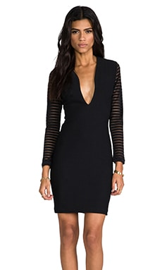 Belle Mini Dress en Noir