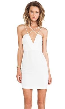 AQ/AQ Yarra Mini Dress in Cream