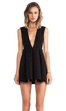 AQ/AQ Upper Mini Dress in Black